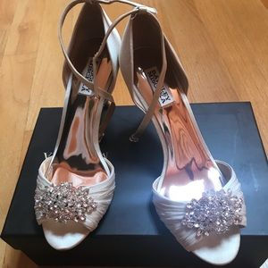 aabd044250e Badgley Mischka Shoes - Badgley Mischka Kali Ankle Strap Pump